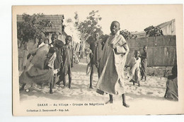 Senegal Dakar Groupe De Negrillons - Senegal