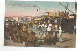 Senegal Dakar Embarquement Des Troupes Pour Le Maroc - Senegal