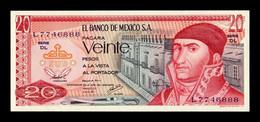 México 20 Pesos 1977 Pick 64d Serie DL SC UNC - México