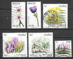 Malte - Flore - Oblitérés - Lot 133 - Malta