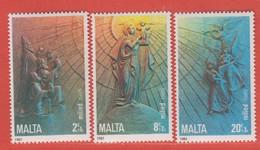 1985 Malta ** (sans Charn., MNH, Postfrisch)   Yv 717/9Mi  736/8 SG 769/71 - Malta