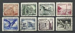 LETTLAND Latvia 1939 Michel 271 - 278 O - Lettland