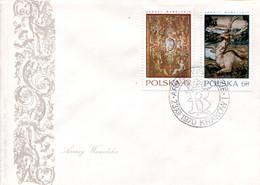 34170101 PL 19701223 Krakow Cracovie; Tapisseries Flamandes Roi Sigismond II; 5FDC - Textile