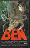 VHS BEN (les Rats) Par La Société PROSERPINE De 1987 - Horror