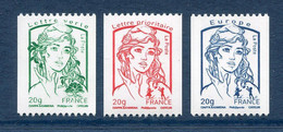 ⭐ France - Yt N° 4778 à 4780 ** - Neuf Sans Charnière - 2013 ⭐ - Nuovi