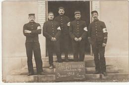 ARMEE BELGE - INFIRMERIE  MILITAIRE  BELGE  - CAEN - FRANCE 1914 - War 1914-18