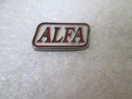 PIN'S    LOGO   ALFA    Etain - Alfa Romeo