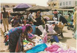 Djibouti Vendeur De Tissus Place Harbi - Djibouti