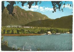 A5065 Caldonazzo (Trento) - Panorama Con Il Lago E Il Lido / Viaggiata 1961 - Autres Villes