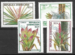 Dominican Republic Mnh ** Pineapple Set 7,5 Euros 1988 - Dominican Republic
