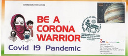 India  2020  Covid 19 Pandemic  Be A Corona Warrior  Donate Plasma  Special Cover  # 32718  D  Inde Indien - Enfermedades