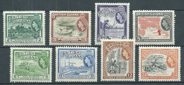 Guyane Britannique YT N°186-187-188-189-190-191-192-193 Reine Elizabeth II Neuf ** - Guyana Britannica (...-1966)