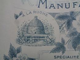 FACTURE - 69 - DEPARTEMENT DU RHÔNE - LYON 1911 - MANUFACTURE DE BRODERIE : FRANCISQUE BERON - Non Classés