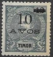Timor Mint No Gum As Issued 2,5 Euros 1905 - Timor