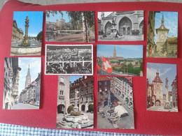 LOTE LOT DE 10 ANTIGUAS POSTALES POST CARDS POSTKARTES DE BERNA BERN BERNE SUIZA SUISSE SCHWEIZ..VER FOTO/S, SWITZERLAND - BE Berne