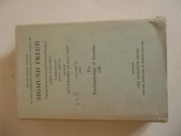 The Standard édition Of The Complete Psychological Works Of SIGMUND FREUD Vol. VI (1901) - Psychology
