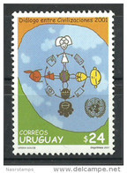 Uruguay - 2001 - ( Year Of Dialogue Among Civilizations / Dialog / Civilisations ) - MNH (**) - Emissioni Congiunte
