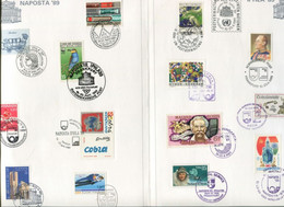 Germany Multi County Special Folder - Stamp Exhibition - Natur