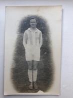 Photo Carte Tenue Homme Voetbal Soccer Raincy - Non Classificati