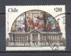 Chile, 2003, 180 Años De La Corte Suprema, Usado - Chile