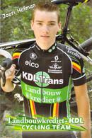 CYCLISME: CYCLISTE : FLORIS DE TIER - Cycling