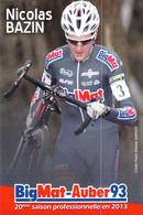 CYCLISME: CYCLISTE : NICOLAS BAZIN - Cycling