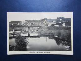 Old Latvia  Judaica SYNAGOGUE  Photo Postcard - Lettonia