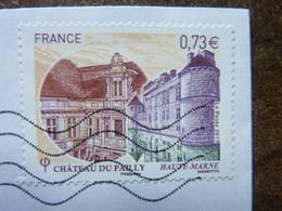 2017  Château De Pailly (Haute Marne)  TBE Oblitéré Used - Gebraucht