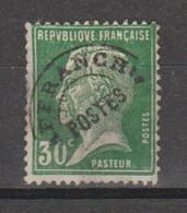 Préo Pasteur 30c Vert - 1893-1947