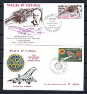 "WALLIS ET FUTUNA 1980: 2x FDC ""Avions"" - Used Stamps"