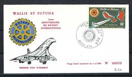 "WALLIS ET FUTUNA 1980: FDC ""Avions"" - Used Stamps"