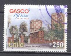 Chile, Gasco 150 Años, Usado - Chile