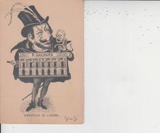 CARICATURE - P GAILHARD Directeur De L'Opéra -  Illustrateur Giraud  - - Unclassified