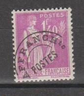 Préo Paix 1.40f Lilas - 1893-1947