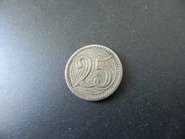 Czechoslowakia 25 Haleru 1933 - Tschechoslowakei
