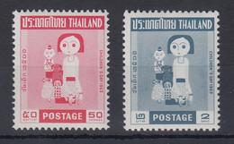 Thailand 1963 Kindertag Satz Mi.-Nr. 428-29 ** / MNH - Thaïlande