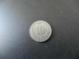 Hungary 10 Filler 1927 - Hungary