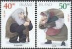 IJsland 2000 Kerstzegels Serie PF-MNH - Ungebraucht