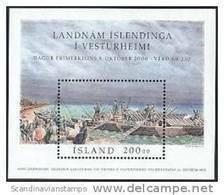 IJsland 2000 Blok 1000 Jaar Vesturheim PF-MNH - Ungebraucht