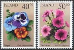 IJsland 2000 Zomerbloemen Serie PF-MNH - Ungebraucht