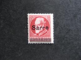 A). SARRE: TB N° 19A, Neuf X. - Nuevos