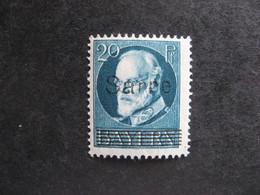 A). SARRE: TB N° 21, Neuf X. - Nuevos