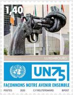 LUXEMBOURG, 2020, MNH, UN, GUNS, 1v - UNO