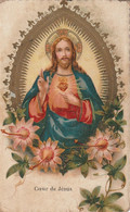 1017 - IMAGE RELIGIEUSE . COEUR DE JESUS . BON ETAT - Santini