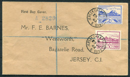 1943 Jersey (June 29th) Views First Day Cover - Jersey