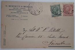 """PONTE A EGOLA - S.CROCE SULL'ARNO - S.MINIATO - PISA - CARTOLINA COMMERCIALE """"N.BENEDETTI & BISACCIA"""" - 1920 - Pisa"""