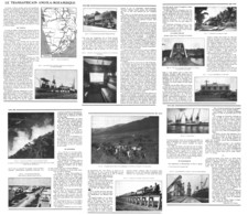 "LE TRANSAFRICAIN "" ANGOLA-MOZAMBIQUE  ""   1937 - Railway"