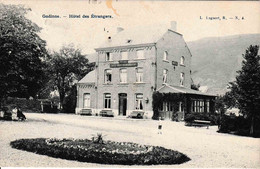 Yvoir - Godinne Hôtel Des étrangers Café Restaurant Lagaert N°4 1912 - Yvoir
