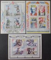 2133 - 1989/1991 - REVOLUTION FRANCAISE - BLOCS N°10-12-13 NEUFS** - Mint/Hinged