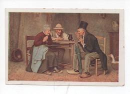 """Jean  Moreau  -  """"  Mauvaise  Nouvelle  """"  Pub.  Chicorée à La Bergère , Emile Bonzel , Haubourdin ( Nord ) - Andere Illustrators"""
